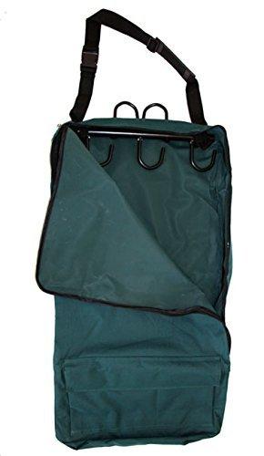 AJ Tack Wholesale Deluxe Trensenzaum Halfter Tasche mit Abnehmbarem Tack Rack Grün -