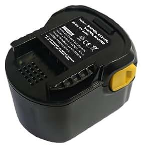 PowerSmart® 12V 3000mAh Ni-MH Batterie pour AEG BS 12 G, BS 12X-R, BS12X-R, BS 12 X-R, BSB 12 G, BSB 12 STX, BSS 12 RW, 4G, B1215R, B1220R, M1230R