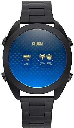 Storm London KOMBI METAL LAZER BLUE 47442/LB Orologio da polso uomo Indicazione digitale analogica