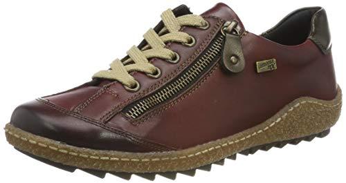 Remonte Damen R4703 Sneaker, Rot Antik/Medoc 36, 41 EU