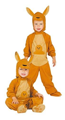 (Känguru Baby - Kostüm für Kinder Gr. 86 - 98, Größe:92/98)