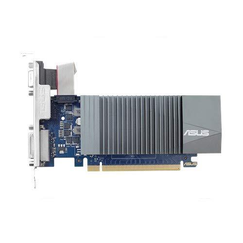 ASUS GeForce GT 710 1GB DDR5, Scheda Video Low Profile per HTPC compatti e Build Low Profile Passive con Incluso Bracket aggiuntivo I/O