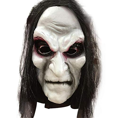 HAJZF Halloween Maske Zombie Halloween Masken Adult Ghost Festival Cosplay Kostüm-Party-Versorgung Supplies Full Face ()
