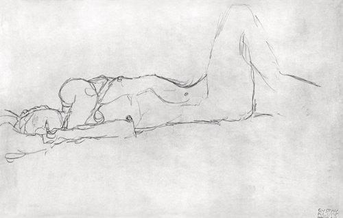 Kunstdruck (50 x 35, Klimt) von