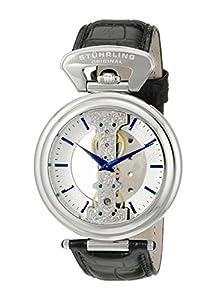 Stuhrling Original 237.33152 - Reloj de pulsera hombre, piel, color negro de Stuhrling Original