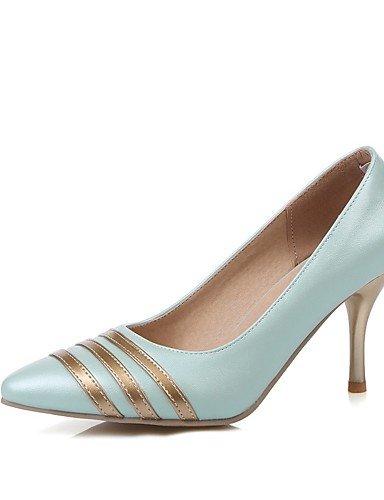 WSS 2016 Chaussures Femme-Bureau & Travail / Décontracté-Bleu / Rose / Violet / Blanc-Talon Aiguille-Talons / Bout Pointu-Talons-Polyuréthane pink-us6 / eu36 / uk4 / cn36