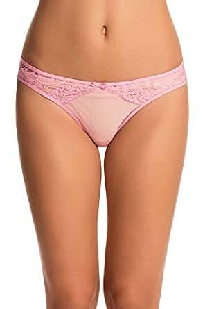 PrettySecrets Women's Bikini (PS1215SBLLPN02_Pink_Small)