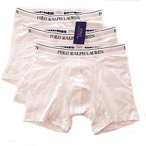 Polo Ralph Lauren Herren Shorts 3er Pack, Boxer Brief, Cotton Stretch - Schwarz: Größe: XL (Gr. X-Large)