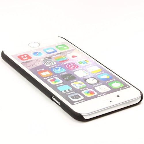Apple IPhone 6 / 6s Handyhülle von original Urcover® in der Premium Feather Edition Backcase IPhone 6 / 6s Schutzhülle Case Cover Etui Schwarz Schwarz