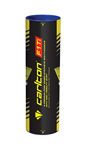 Dunlop Badmintonball Carlton F1 TI, Rot, One size, 3767