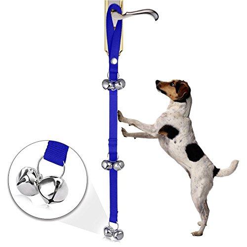 Bild: Hund Puppy Tür Glocke für WC Töpfchen Badezimmer Training Training und Erziehung Klingeln Seil für House Training Small Medium und große Hunde