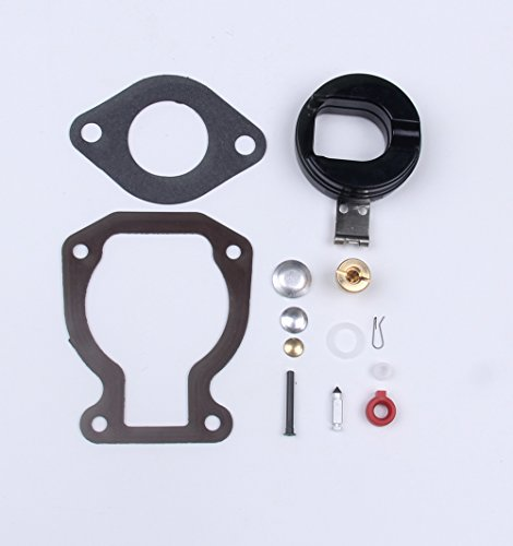 BH-MOTOR New Carb Vergaser Reparatur Rebuild Kit mit Float 4-15 HP für Johnson Evinrude (398453