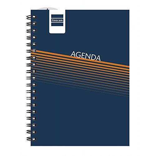 Finocam Lisa azul - Agenda 2016 - 2017, color azul
