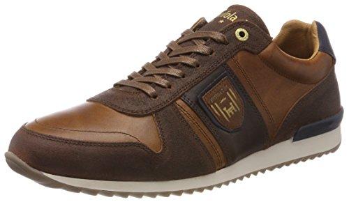 Pantofola d'Oro Teramo Uomo Low, Sneaker, Braun (Tortoise Shell .Jcu), 42 EU