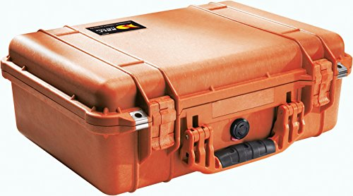 Peli Protector 1500 Orange Avec Schaumstoff