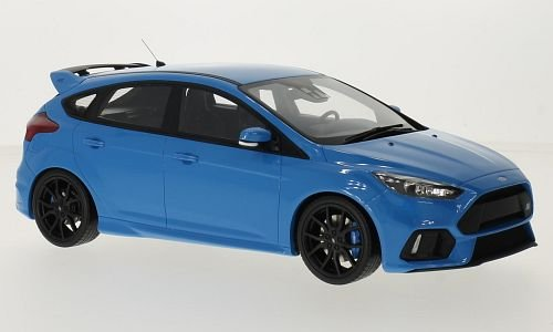 Preisvergleich Produktbild Ford Focus MK III RS, metallic-hellblau, 2016, Modellauto, Fertigmodell, Ottomobile 1:18