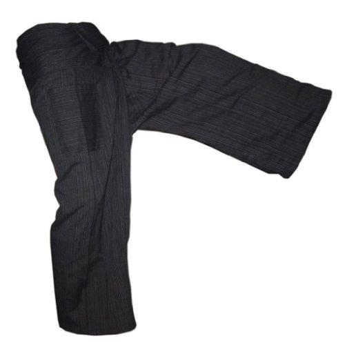 Panasiam® Fishermannhose: Lin, in schwarz, XL -