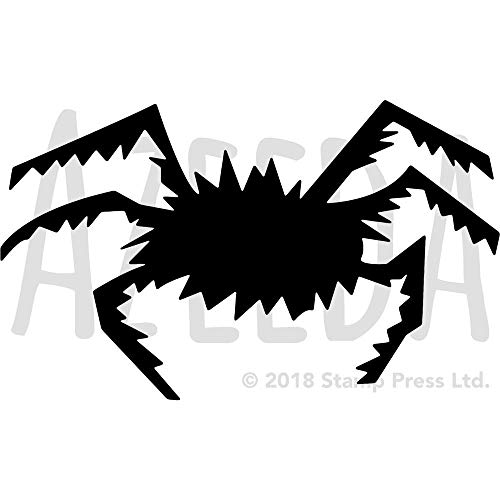 Azeeda Groß A2 'Halloween Spinne' Wandschablone / Vorlage (WS00015806)