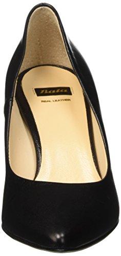 Bata 7246772, Scarpe con Tacco Donna Nero