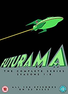 Futurama - Season 1-8 [DVD] [1999]
