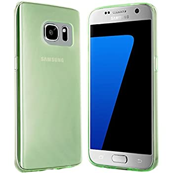 Coque Samsung Galaxy S7 - moodie Coque Silicone Protection Samsung S7 - Vert