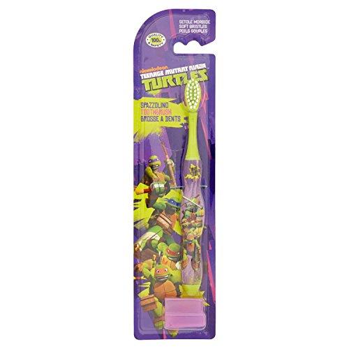 Higiene Dental y Tiritas 6878 - Cepillo de dientes con tapa Tortugas Ninja