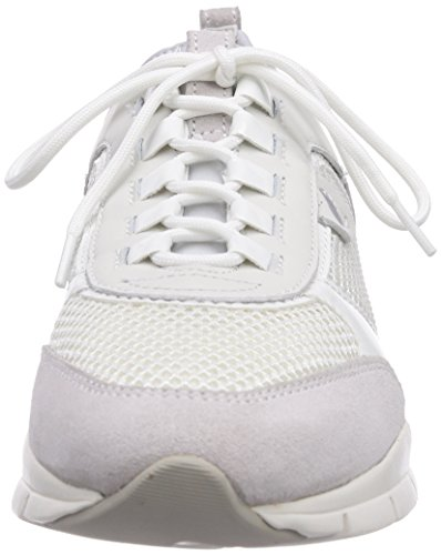 Geox D SUKIE B Damen Sneakers Weiß (OFF WHITEC1002)
