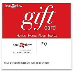 BookMyShow Digital Voucher