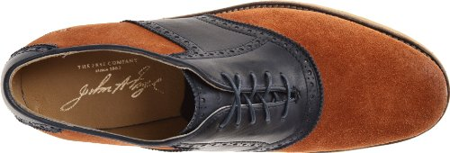 FRYE Mens Jim Saddle Oxford Cognac/Navy - 88098