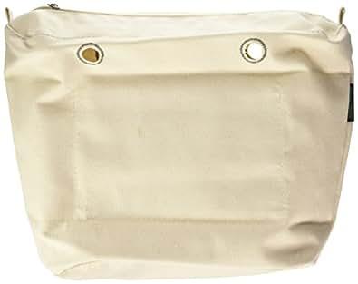 O bag OBCV01, Borsa a Mano Donna, Beige (Naturale), 29x25x9 cm (W x H x L)