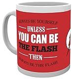 GB Eye, DC Comics, The Flash, Be Yourself, Taza