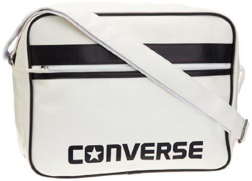 Converse Bolso bandolera Umhängetasche Flat Zip Reporter Sport, blanco – optic white,...