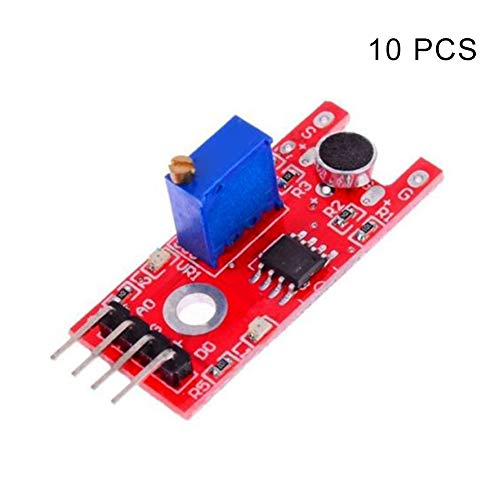 Acreny 1/5 / 10pcs Mikrofon Sound Sensor Modul Board KY-038