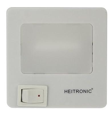 Nachtlicht 1,5 Watt mit Schalter Steckdosenlicht Lampe an/aus von Heitronic bei Lampenhans.de