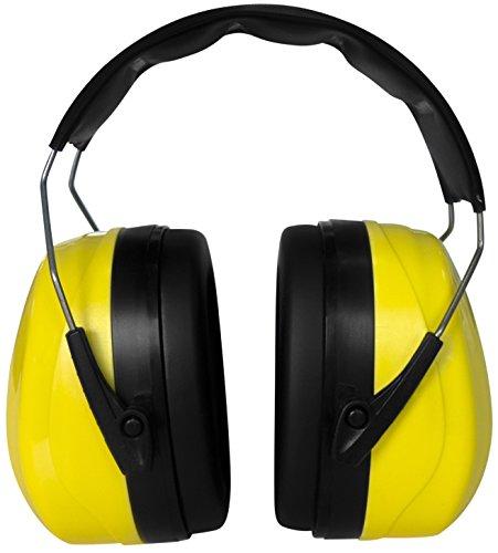 Gehörschutz, Größe stufenlos verstellbar, geeignet für jede Altersklasse, extra weiche Polster, große Ohrcups, ideal für handwerkliche Arbeiten, zum Lernen bei lauter Umgebung und vielem mehr - 3