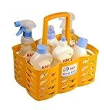 Klar EcoSensitiv Starter Set 3.3 ohne Duft, vegan (Color Waschmittel, Spülmittel sensitive, Zitronensäure Kalklöser, Badreiniger, Glas & Oberflächen, WC Reiniger im Kunststoffkorb)