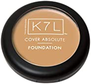 K7L Cover Absolute Foundation - Ultimate Full Coverage & Smooth Matte Foundation to Hide Scars & Blemi