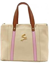 Gattinoni - Bolso al hombro para mujer beige beige