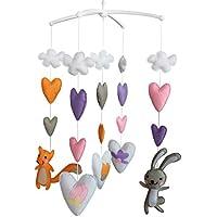 Baby-Geschenk-Mobile, [Tierfreunde] Säuglingsmusical Mobile, hübsches Dekor preisvergleich bei kleinkindspielzeugpreise.eu