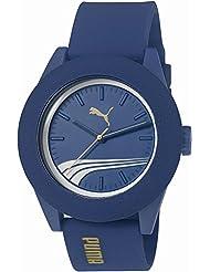 Puma Time Herren-Armbanduhr Academy Analog Quarz Silikon PU103971003