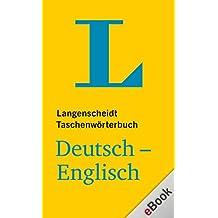 Langenscheidt Taschenwörterbuch: Deutsch-Englisch (Langenscheidt Taschenwörterbücher)