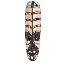 Máscara de pared de madera in 50cm Longitud África Máscara