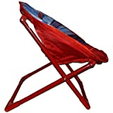 Generic Multiple Cartoon Printed Foldable Relaxing Polyester Fabrication with Metal Frame Chair for Kids, Standard(Multicolour)