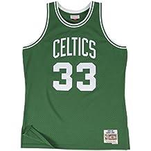 Mitchell & Ness Larry Bird # 33Boston Celtics 1985–86swingman NBA Maglia Verde