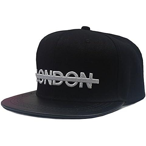 Berretti da baseball hip hop sudcoreano/Cappello a tesa piatto della signora/Hip-hop coppia street (Signore Blu Visor)
