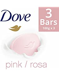 Dove Pink Rosa Beauty Bathing Bar, 100g (Pack of 3, Now at Rupees 29 Off)