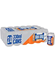 IRN-BRU Sugar Free Soft Drink Cans, 24 x 330 ml
