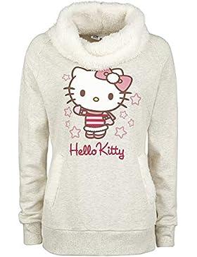 Hello Kitty Sudadera Mujer Amarillo Moteado