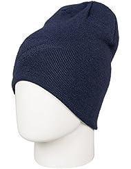 Quiksilver Heatbag Slouch - Gorro corte amplio para hombre, color azul, talla única