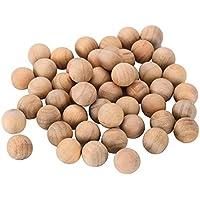 Bolas de madera de cedro repelente de polillas de cedro Bolas de madera de cedro repelente de polillas para cajones de casa cajones cajas de almacenamiento armarios evita moho humedad 50 piezas